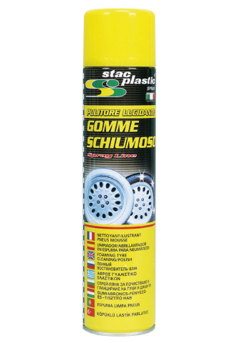 Stac Plastic - Foaming tyre cleaning-polish
