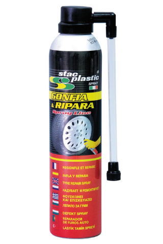Stac Plastic - Tyre repair kit 300 ml
