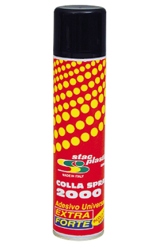 Stac Plastic - Colla spray 2000