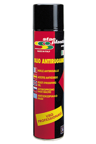 Stac Plastic - Rust proofing oil