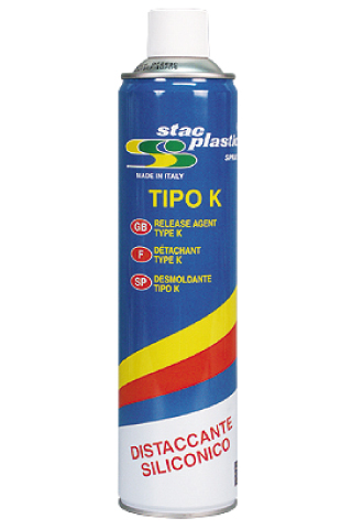 Stac Plastic - Siliconic release agent type K